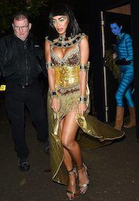 Celebrity Nicole Scherzinger Cleopatra Costume