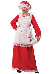 Mrs. Claus Costume for Adults