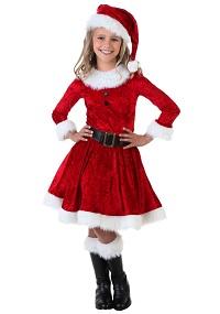 Girl Christmas Mrs. Claus Costume