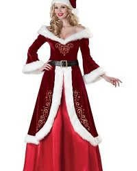 Christmas Mrs. Claus Costume Ideas for Adults
