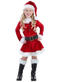 Christmas Mrs. Claus Costume for Toddlers