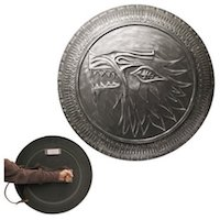 Game of Thrones Stark Infantry Authentic Shield