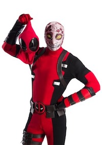 Premium Deadpool Costume for Adults