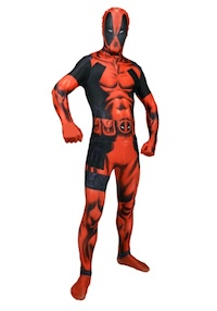 Marvel Deadpool Costume Morphsuit
