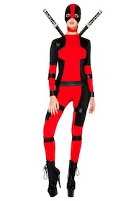 Marvel Women's Deadpool Costume