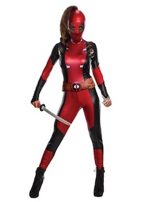 Marvel Deadpool Costume for the Ladies