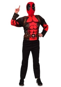 Marvel Deluxe Deadpool Costume for Kids