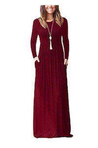 Handmaid's Tale Long Red Dress