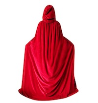 Handmaid's Tale Costume Hooded Cape