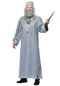 Harry Potter Deluxe Albus Dumbledore Costume for Adults