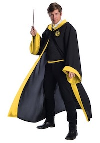Deluxe Hufflepuff Costume for Adults