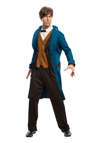 Harry Potter Fantastic Beasts Newt Scamander costume for Adults