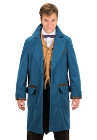 Harry Potter Fantastic Beasts Newton Scamander Costume Coat