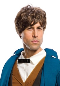 Harry Potter Fantastic Beasts Newt Scamander Wig