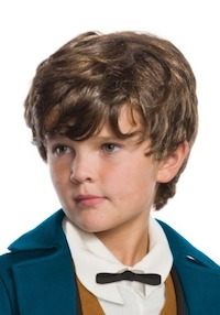 Harry Potter Fantastic Beasts Scamander Wig for Kids