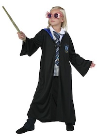 Harry Potter Luna Lovegood Ravenclaw Costume for Kids