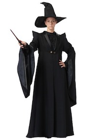 Harry Potter Deluxe Professor McGonagall Costume for Adults