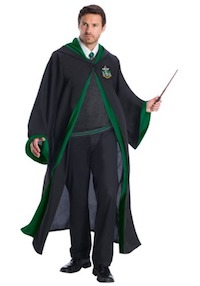 Harry Potter Deluxe Adult Slytherin Costume