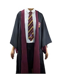 Authentic Cosplay Harry Potter Gryffindor Costume for Adults
