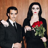 Joe Jonas Sophie Turner Halloween Costume Addams Family Costume Ideas