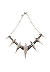 Black Panther Spike Necklace