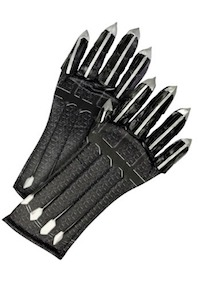 Black Panther Costume Gloves