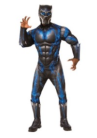 Black Panther Blue Costume for Adults
