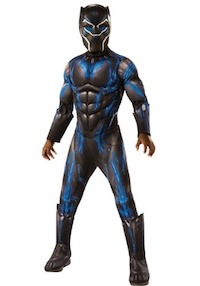 Deluxe Black Panther Blue Costume for Kids