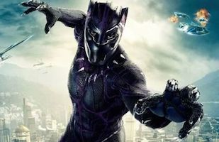 Marvel Superhero Black Panther Costume