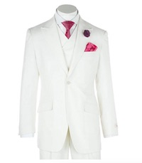 Daredevil Wilson Fisk Costume White Suit