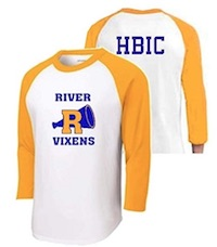 Riverdale River Vixens Cheerleading Shirt