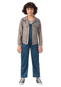 Stranger Things Eleven Plaid Shirt for Kids