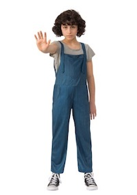 Stranger Things Eleven Overalls Costume for kids