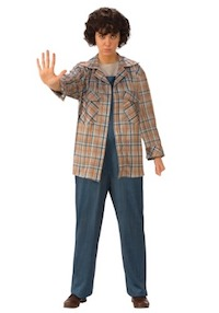Stranger Things Adult Eleven Plaid Shirt