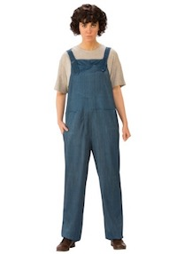 Stranger Things Adult Eleven Overalls Costume