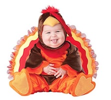 Thanksgiving Turkey Costume Ideas for Babies