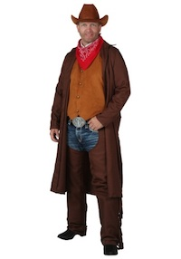 WestWorld Teddy Cowboy Costume