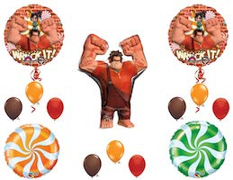 Wreck it Ralph Balloons