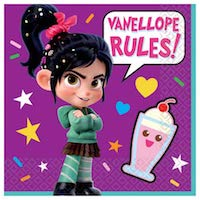 Wreck it Ralph Vanellope Napkins