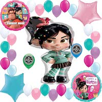 Wreck it Ralph Vanellope Party Balloons