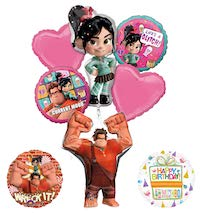 Wreck it Ralph Vanellope Ralph Balloon Bouquet
