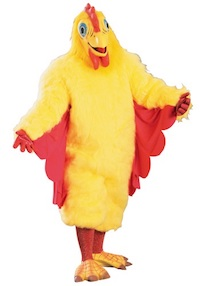 PK Subban Costume - KFC Theme - Chicken Costume