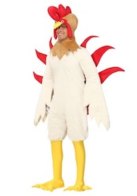 PK Subban Costume - KFC Theme Chicken
