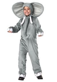 Sophie Turner Costume as Elephant for Kids