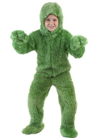 Christmas Grinch Jumpsuit for Kids
