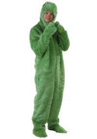 Christmas Grinch Jumpsuit for Adults