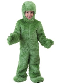 Toddler Christmas Grinch Costume