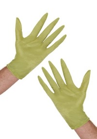 Christmas Grinch Gloves