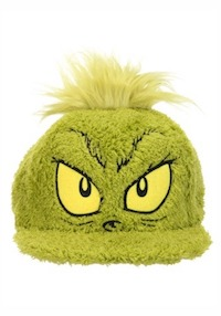 Christmas Grinch Dr. Seuss Fuzzy Hat