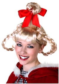 Christmas Girl Cindy Lou Buck Teeth